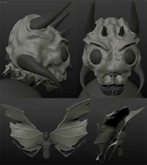Mikan Simonis | Art portfolio | 3D