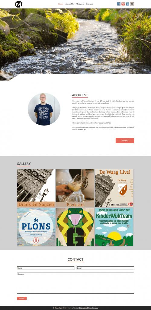 Mikan Simonis | Web portfolio | Menno Vreman